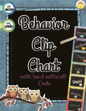 English + Spanish Behavior Clip Chart with Log -Tablero de Conducta con Registro