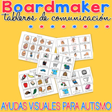 Tableros de comunicación - Boardmaker SPANISH Visual Aids for Autism SPED
