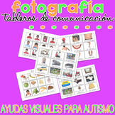 Tableros de comunicación - Real Photo SPANISH Visual Aids for Autism SPED