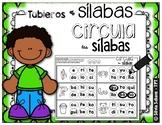 Tableros de sílabas - Circula las sílabas