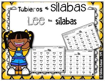 Tableros de sílabas - Lee las sílabas