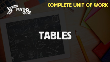 Tables - Complete Unit of Work