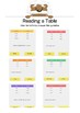 Tables & Graphs: Read a Table BUNDLE - K-3rd Grades