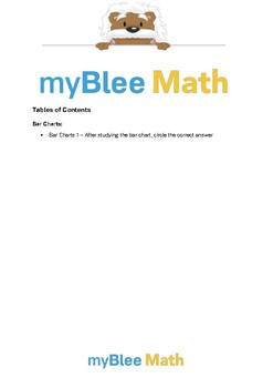 Tables & Graphs Workbook : Second Grade