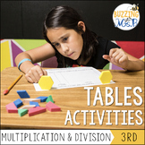 Tables - Multiplication and Division Relationships