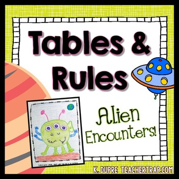 In and Out Boxes (Tables and Rules)