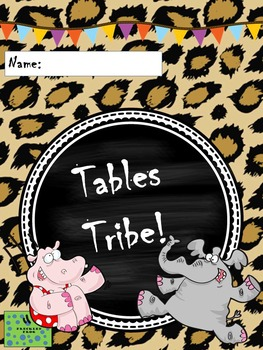 Tables Tribe Multiplication and Division Booklet