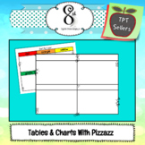 Tables and Charts With Pizzazz Clip Art