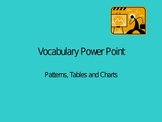 Tables and Patterns Powerpoint