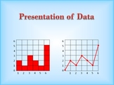 Tables, bar charts, and graphs - how to construct them in order to present data
