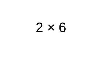 Tables de multiplication 0 à 5