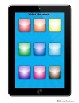 Tablet Fun File Folder Games