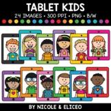 Tablet Kids Clipart