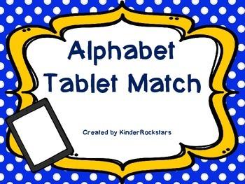 Tablet Letter Match