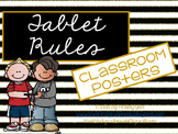 Tablet Rules: Black and Gold