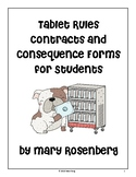 Tablet Rules Contract for Students to Sign