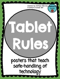 Tablet Rules Posters