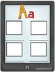 Tablet Time: Beginning Sounds, all 26 letters and long vowels