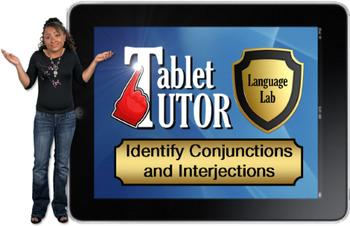 Tablet Tutor Mini Lesson:  Language Lab, Identify Conjunct