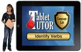 Tablet Tutor Mini Lesson:  Language Lab, Identify Verbs