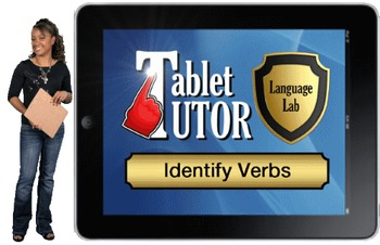 Tablet Tutor Mini Lesson:  Language Lab, Identify Verbs