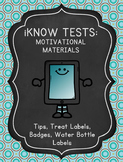 Tablet iPad Themed Test Prep and Motivational Materials