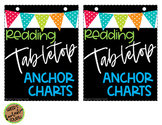46 Tabletop/Interactive Notebook Anchor Charts (READING)