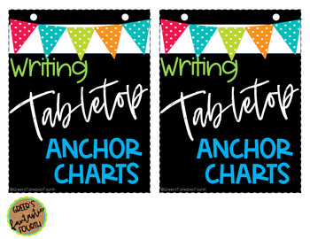 Tabletop/Interactive Notebook Anchor Charts (WRITING)