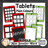 Tablets Clipart Set 1 BUNDLE