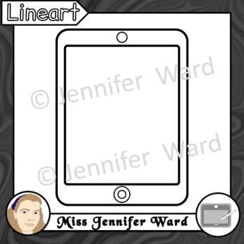 Tablets Clipart Set 2