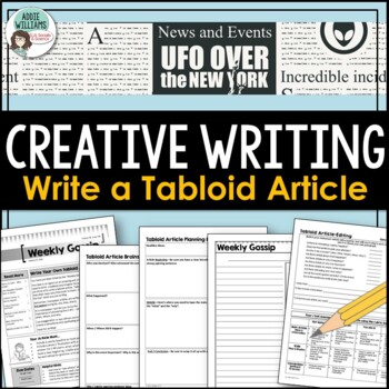 Expository / Creative Writing Activity - Write a Tabloid Article