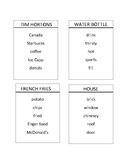 Taboo Cards - AAC Conversation Starter