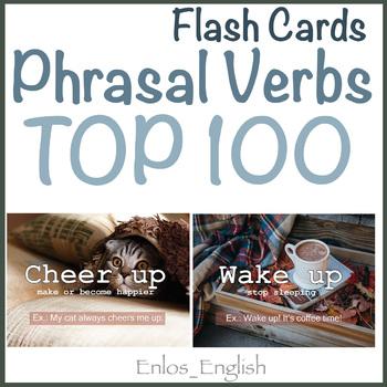 Cards with Phrasal Verbs ESL