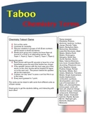 Taboo Game - Chemistry / Physical Science vocabulary