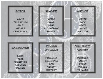 Taboo Game - jobs