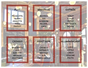Tabou - Le restaurant