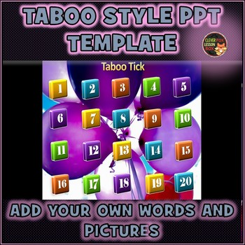 Taboo PowerPoint Template