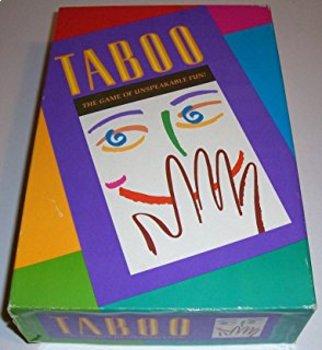 Taboo - Spanish 1 Vocabulary
