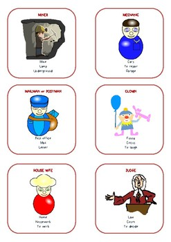 Taboo game - JOBS - Speaking activity – PDF document