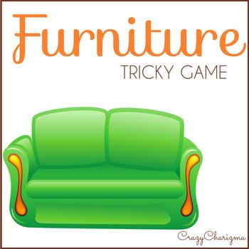 Furniture Vocabulary Cards Game {Dollar deals}