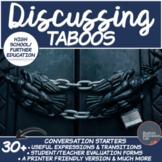 Taboos- High School/ Further Education Conversation Starte