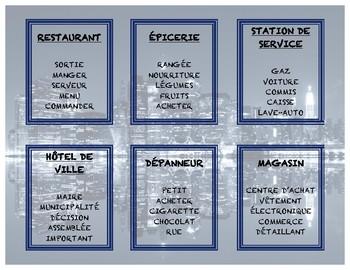 Tabou - Villes et villages