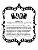 Tabu - Upper Level