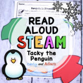 Tacky the Penguin Disguise Winter READ ALOUD STEAM™Activity Distance Learning
