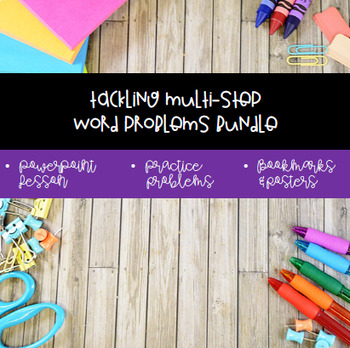 Tackling Word Problems Bundle