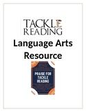 Tackle Reading language arts football packet