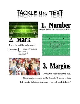 Tackle The Text