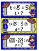 Tackle Those Equations:  New TEKS (Texas 4th Grade Math)