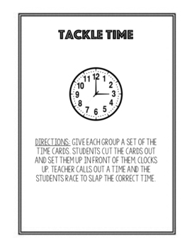 Tackle Time
