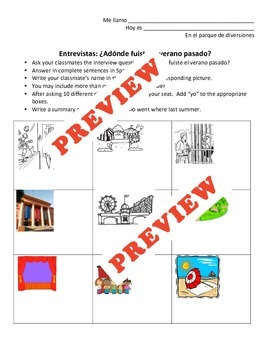 """Tackle the preterite of """"ir"""" with these two great lessons!"""